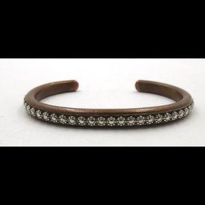 Sterling Silver & Copper Skyking Cuff Bracelet